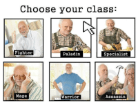 "<p>Does this have any memetic value on the market right now? via /r/MemeEconomy <a href=""http://ift.tt/2nn23ik"">http://ift.tt/2nn23ik</a></p>: Choose your class:  Fighter  Paladin  Specialist  Mage  Warrior  Assassin <p>Does this have any memetic value on the market right now? via /r/MemeEconomy <a href=""http://ift.tt/2nn23ik"">http://ift.tt/2nn23ik</a></p>"
