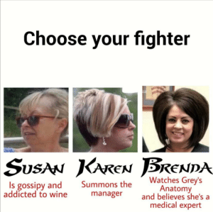 Choose your fighter: Choose your fighter