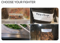 Choose,  Fighter, and Your: CHOOSE YOUR FIGHTER  Kepehup  Ranibow Sprimkle  enuts  SPINCH