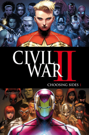 CHOOSING SIDES 1 superhero-news:  This cover has turned out to be quite misleading