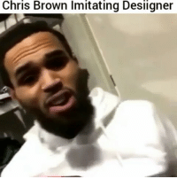 ChrisBrown impersonate Desiigner: Chris Brown lmitating Desiigner ChrisBrown impersonate Desiigner