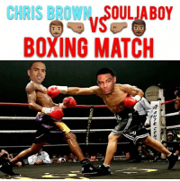 Well I got a sneak peak of the fight with @chrisbrownofficial vs @souljaboy popcorn 🍿 ready let's see how this goes 😈 - - - - For more videos follow me @kmoorethegoat: CHRIS BROWN, SOULJA BOY  BOXING MATCH Well I got a sneak peak of the fight with @chrisbrownofficial vs @souljaboy popcorn 🍿 ready let's see how this goes 😈 - - - - For more videos follow me @kmoorethegoat
