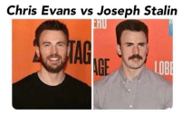 stalin: Chris Evans vs Joseph Stalin  AG  AGE  LOB
