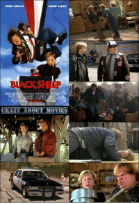 Released 1996: CHRIS FARLEY  DAVID SPADE  CRAZY  BOUT MOVIES Released 1996