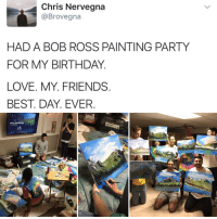 bob ross paintings