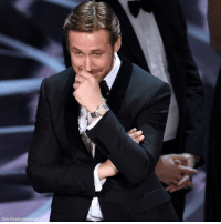 SPOTTED: Actor RyanGosling reacts to news that LaLaLand was mistakenly named best picture during the TheAcademyAwards last night. Click the link in our bio to find out how this HUGE mistake happened.: Chris Pizzella invision/AP SPOTTED: Actor RyanGosling reacts to news that LaLaLand was mistakenly named best picture during the TheAcademyAwards last night. Click the link in our bio to find out how this HUGE mistake happened.