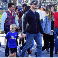 Chris Pratt, Disneyland, and Memes: Chris Pratt and Katherine Schwarzenegger know how to kick things up for Sunday funday - with a trip to Disneyland Chris' son will surely never forget. tmz chrispratt katherineschwarzenegger disneyland sundayfunday 📷MEGA