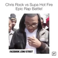 This video? I watch that. The heart button? I hit that. This content? I post that. freestyle rap doubletap: Chris Rock vs Supa Hot Fire  Epic Rap Battle!  FACEBOOK.COM/STREET  ST This video? I watch that. The heart button? I hit that. This content? I post that. freestyle rap doubletap