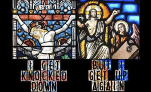 Episcopal Church , Victory, and Won: Christ has won the victory.  (Shared from Unvirtuous Abbey)