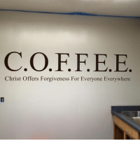 Memes, Forgiveness, and 🤖: Christ Offers Forgiveness For Everyone Everywhere A little humor to start the day!  I knew there was a reason I needed coffee! :D  VWNurseBenghazi