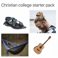 College, Memes, and Christian Memes: Christian college starter pack  @alexmakeschristianmemes 10 More Hilarious Christian Memes You Have to See This Week