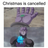 Dragonball, Goku, and Memes: Christmas is cancelled  My next target is... What would you do with Hits time skip ability? I know exactly what you pervs would do 😒 christmas otaku manga anime weeaboo dragonball dragonballs dragonballz dbz dragonballzkai dragonballgt dragonballsuper hit hitto santa santaclaus merrychristmas goku vegeta christmasiscancelled