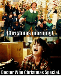 christmas special: Christmas morning!  Doctor Who Christmas Special
