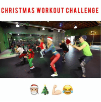 Christmas, Memes, and Stephen: CHRISTMAS WORKOUT CHALLENGE TAG someone who need to do this ASAP 🎄💪🏻🎄🎅🏼🎄⭐️🎄🎅🏼🎄💪🏻⭐️🎁🎄😂😂😂 make sure to christmasworkoutchallenge christmasworkoutchallenge so I can see and repost my favs 😍🎄 ———————————————— @stephen_hilton_ @ughitsjoe @annelisejr @holly_coco1 @jus_jacques @bootyworksfitness