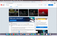 Anaconda, Chrome, and Internet: Chrome File Edit View History Bookmarks People Window Help  100% Esa,  Mon 7:20 PM  A  reddit.com: Welcome back x 0 Tolomei(ST), Lucas- Outlookx D PA Pennsylvania Keystone Key x f Messenger  reddit: the front page of the in  +  x  ぐ → C  https://www.reddit.com  reddit Popular  Q Search Reddit  3LOG IN  SIGN UP  SORT BEST  VIEW  Trending today  LITA-  Halftime Show  The NFL's halftime show vs. The  NHL's  r/BikiniBottomTwitter and more  Avengers  Marvel Studios' Avengers:  Endgame - Big Game TV Spot  Commercial  Official Superbowl Movie  Trailer/Ads Megathread 2019  Apex Legends  Apex Legends The Next  Evolution of Battle Royale - Fre  r/marvelstudios and more  r/movies and more  r/Games and more  Make your voice heard  Vote and be a part of what the internet is talking about!  JOIN THE DIScussiON  r/popular  Popular posts  The best posts on Reddit for you, pulled  from the most active communities on  Reddit. Check here to see the most shared,  upvoted, and commented content on the  internet.  r/IDontWorkHerelady Posted by uflex_tape_gurl 15 hours ago  S3  244k Couple say I'm their daughter and try and kidnap me for not doing my  job...  CREATE POST  This was about 3 years ago but my aunt recently brought it up so I thought I'd share. This  was a horrid experience but I now look back and laugh.  I was 14 and was visiting my aunt and uncle over the summer. My aunt works at the drug  store a few blocks away. One day I had to get some feminine products as I had run out.  So I decided Id bring som  I went straight to the feminine  So I had squatted down to pick  ADVERTISEMENT  e lun  PRIME ORTGINAL  Successfully logged in!  Oo  4