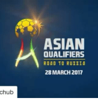 Repost @theafchub with @repostapp ・・・ 🇰🇷 vs 🇸🇾 , 🇮🇷 vs 🇨🇳 , 🇺🇿 vs 🇶🇦 . What are your predictions for tomorrow's Group A fixtures? OAOG RoadToRussia WCQ2018 Asia: chub  ASIAN  QUALIFIERS  ROAD TO RUSSIA  28 MARCH 2017 Repost @theafchub with @repostapp ・・・ 🇰🇷 vs 🇸🇾 , 🇮🇷 vs 🇨🇳 , 🇺🇿 vs 🇶🇦 . What are your predictions for tomorrow's Group A fixtures? OAOG RoadToRussia WCQ2018 Asia