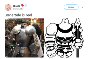 Reality, Chuck, and Real: chuck  @charlubby  Follow  undertale is real Undertale becomes reality