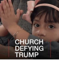 Chicago, Church, and Donald Trump: CHURCH  DEFYING  TRUMP 8 MAY: As US President Donald Trump cracks down on immigration, one church is promising to hide those who are facing deportation. Watch more: bbc.in-churchdefying Church Immigration Deportation Trump DonaldTrump @POTUS sanctuarycities US Mexico Immigrant Chicago BBCShorts BBCNews @BBCNews