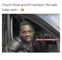 Real shit 😭😂 JokeTing churchroad icecity er nines cbiz worldstar beef crimewatch rollsafe: Church Road and ER mandem. Roll safe  today yeah  FOLLOW OYounGKINGSTV Real shit 😭😂 JokeTing churchroad icecity er nines cbiz worldstar beef crimewatch rollsafe