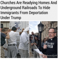 """Church, Memes, and Buffalo: Churches Are Readying Homes And  Underground Railroads To Hide  Immigrants From Deportation  Under Trump  and  AYER  17 thsoulia4 Churches across the US are fighting back against the Trump administration's mandate to ramp up deportations with new sanctuary practices of their own, using private homes in their congregations as shelter and potentially creating a modern-day underground railroad to ferry undocumented immigrants from house to house or into Canada. Church leaders from California to Illinois and New York told BuzzFeed News they're willing to take their sanctuary operations for undocumented immigrants underground should federal immigration authorities, emboldened by Trump's recent directives to take a harder line on deportations, ignore precedent and raid their campuses. """"We're willing to take that risk because it is our call to justice, and this is how we live our faith,"""" Rev. Justo Gonzalez II, pastor of Pilgrim St. Luke's in Buffalo, told BuzzFeed News. He leads one of the churches that has reached out to an organization in Canada to possibly take in undocumented families.Gonzalez knows they are stepping into legally murky territory, especially when it comes to possibly smuggling immigrants into Canada, but he said attorneys in his congregation have agreed to help them pro bono if they find themselves in hot water. 17thsoulja BlackIG17th"""