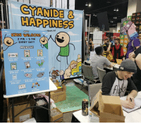 Dank, Comic Con, and Denver: CİANDE &  HAPPINESS  -losm.net  4213 WILSON!  2 PM 5 PM  EVERY DAY!  MERCH!  HAZARD  $25.00  $15.00  $15.00  BLAST FROM THE PAST BOTTLE OPEHED  $10.00  $10.00  $10.00  $25.0o  $15.00  $10.00  a T $10.00  $20.0o Are you at Denver Comic Con? So are we! Kris Wilson will be at booth 1059 all weekend from 2-5, signing whatever you throw in front of him! Stop by then for an autograph, or any time this weekend to pick up some SICK MERCH.