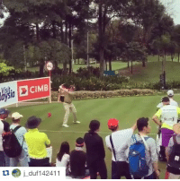 Real-life Happy Gilmore! (He was in last place at the time): CIMB  aysia  tu j duf 142411 Real-life Happy Gilmore! (He was in last place at the time)
