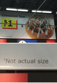 Tumblr, Blog, and Http: Cinnamon bun  Not actual size  As-is   Not actual size nostopdasgay:  Whats the point then