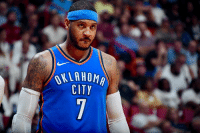 Carmelo Anthony, Hawks, and Thunder: CITY Thunder agree to trade Carmelo Anthony and a 2022 1st-rounder to Hawks for Dennis Schroder and Mike Muscala, Melo will be waived, per Adrian Wojnarowski