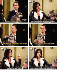 This was hilarious 😂 #HIMYM https://t.co/lwUN5iF9zO: Citytv  You did the same forme back when  had to give away all my dogs,remember?  Thanks for coming with me  25  25  Oh yeah, we drove to your aunt's famupstate  l love how she,was this wise oldrtv  chilled out lesbian farmer  She,was awesome.  No nono, she's not a lesbian  nor does she farm them  That woman she liveswith, that's justher special  friend Maureen. They've lived together for...oh. This was hilarious 😂 #HIMYM https://t.co/lwUN5iF9zO