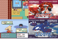 Dank, Covers, and Japan: CLAMPERL  L 20.  What should  BLAZIKEN do?  BLAZIKEN  LE77  220 220  FIGHT BAG  POKeMON RUN  CAME BOAADANCE. The Pokémon Company Wintendo  The Pokémon Company (Ninendo GAMEBOY ADVANCE  1-4 AM On this day in 2002, fourteen years ago, Pokémon Ruby & Sapphire were first released in Japan. These games were the first for the GameBoy Advance and introduced a massive 135 new Pokémon. These games featured a story where you had to face off against Team Magma or Team Aqua in the respective games and prevent them from causing the world to be covered by land or ocean. Did you get these games? What memories do you have of them? What Pokémon introduced in these games are your favourites? http://www.serebii.net/rubysapphire