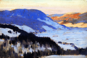 clarence-gagnon:Overlooking the Valley of the Gouffre, Charlevoix, 1915, Clarence Gagnon: clarence-gagnon:Overlooking the Valley of the Gouffre, Charlevoix, 1915, Clarence Gagnon