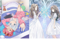 Dank, April 26, and 🤖: ClariS to Perform Ero Manga Sensei OP Theme!  - The single is scheduled to release on April 26.  - The anime is due in April 2017. Via: http://bit.ly/2ktKBHu