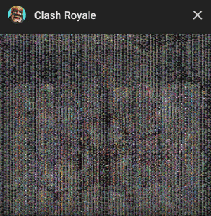 Clash, Royale, and  Gave Up: Clash Royale  X Clash Royale gave up on me