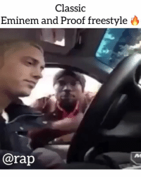 Eminem, Freestyling, and Friends: Classic  Eminem and Proof freestyle  @rap throwbackthursday eminem and proof freestyling 🔥 ➡️ TAG 5 FRIENDS ➡️ TURN ON POST NOTIFICATIONS