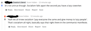 Classical Liberal uses galaxy brain to demolish socialism: Classical Liberal uses galaxy brain to demolish socialism