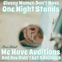 women and one night stands
