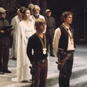 "claudiajeancregg-concannon:  fallenangelontheceiling:  alwaysstarwars:  Awesome photo from the official Star Wars Twitter account.  #I'm still so amused that han's idea of formal wear is ""exactly the same shit but buttoned up above the clavicle""     #that's his idea of getting dressed up     #luke is wearing his nice formal black and leia is statuesque with half a ton of braids on her head     #but han just….did up two or three buttons…     #mY LOSER SPACE SON   @claudiajeancregg-concannon  # can we also talk about the fact that Luke is wearing Han's clothes. #which makes sense since his home was burned he didn't bring a change of clothes # so this means Han put off wearing new threads to this thing and let Luke wear his only other good clothes #but what about you, Han #eh, it's fine kid, I'll just button up the collar. : claudiajeancregg-concannon:  fallenangelontheceiling:  alwaysstarwars:  Awesome photo from the official Star Wars Twitter account.  #I'm still so amused that han's idea of formal wear is ""exactly the same shit but buttoned up above the clavicle""     #that's his idea of getting dressed up     #luke is wearing his nice formal black and leia is statuesque with half a ton of braids on her head     #but han just….did up two or three buttons…     #mY LOSER SPACE SON   @claudiajeancregg-concannon  # can we also talk about the fact that Luke is wearing Han's clothes. #which makes sense since his home was burned he didn't bring a change of clothes # so this means Han put off wearing new threads to this thing and let Luke wear his only other good clothes #but what about you, Han #eh, it's fine kid, I'll just button up the collar."