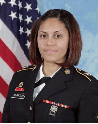 Honoring US Army Spc. Hilda I.Ortiz Clayton, 22 of Augusta, Georgia, a combat photographer, KIA (July 2, 2013) in Jalalabad, Afghanistan. https://t.co/l1NF8WyIop: CLAYTON Honoring US Army Spc. Hilda I.Ortiz Clayton, 22 of Augusta, Georgia, a combat photographer, KIA (July 2, 2013) in Jalalabad, Afghanistan. https://t.co/l1NF8WyIop