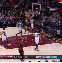 Channing Frye making plays! 👀: CLE  66  3rd 9:59  22  EST NBA WEDNESDAY Channing Frye making plays! 👀