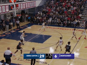 Bronny James' first high school bucket is a three. Zaire Wade with the assist!   https://t.co/2pIDbjAMOK: CLE  CIE  SCCEE  RESTUR  VEUS  NEZT  BOM ER  12  7: 15  SIERRA CANYON 29 21 2Q  MONTGOMERY  UNION H  WATER  STRICT Bronny James' first high school bucket is a three. Zaire Wade with the assist!   https://t.co/2pIDbjAMOK