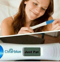 Fat: Clearblue Just Fat