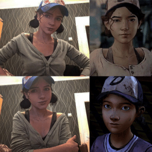 Clementine Cosplay from The Walking Dead game: Clementine Cosplay from The Walking Dead game