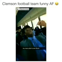 ⠀ 🌱They're Wrong For This! 😂: Clemson football team funny AF  ig: bestvines  my mans didn't even flinch ⠀ 🌱They're Wrong For This! 😂