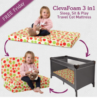 Ding Dong!! #FreeFriday is here <3 SHARE this post & leave us a COMMENT below. Best of luck everyone! :-) PS: Winner announced next Monday (6th March): ClevaFoam 3 in 1  Sleep, Sit & Play  Travel Cot Mattress Ding Dong!! #FreeFriday is here <3 SHARE this post & leave us a COMMENT below. Best of luck everyone! :-) PS: Winner announced next Monday (6th March)