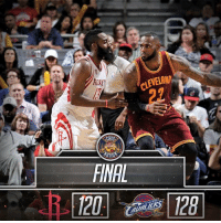 Cavs, Finals, and J.R. Smith: CLEVELAND  ATIO  FINAL  ALALIER [FINAL] The Cavs take down the Rockets, 128-120!  Kyrie Irving: 32pts, 4ast, 2reb Kevin Love: 24pts, 5reb, 2stl, 1blk LeBron James: 19pts, 13reb, 8ast J.R. Smith: 15pts, 3reb, 2ast  FULL HIGHLIGHTS: bit.ly/ClutchPoints