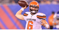Memes, Browns, and Cleveland: CLEVELAND .@Browns don't plan to give Baker Mayfield first-team reps in preseason: https://t.co/Ey7PfUhrLg (via @TomPelissero) https://t.co/59bHahFyD3