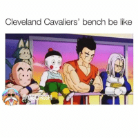 Be Like, Cavs, and Cleveland Cavaliers: Cleveland Cavaliers' bench be like I posted this exactly a year and a day ago, and shit still relevant 😂😂😂 cavs warriors
