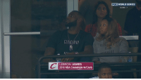 """""""Man would it be embarrassing to lose being up 3-1 in the WorldSeries """": CLEVELAND  LEBRON JAMES  2016 NBA CHAMPION W/CAVS  FOX  WORLD SERIES  GAME 7 """"Man would it be embarrassing to lose being up 3-1 in the WorldSeries """""""