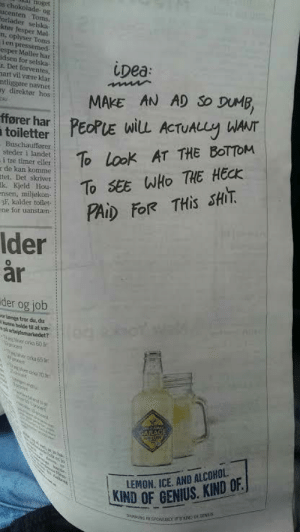 Clever advertising: Clever advertising