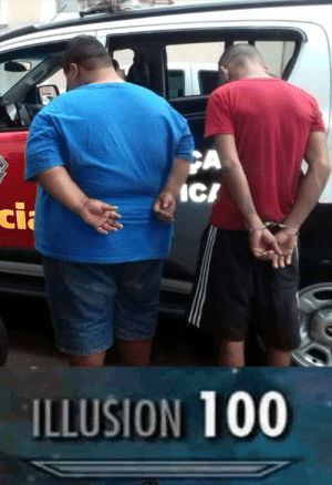 Fat people are harder to kidnap: Cli  ILLUSION 100 Fat people are harder to kidnap
